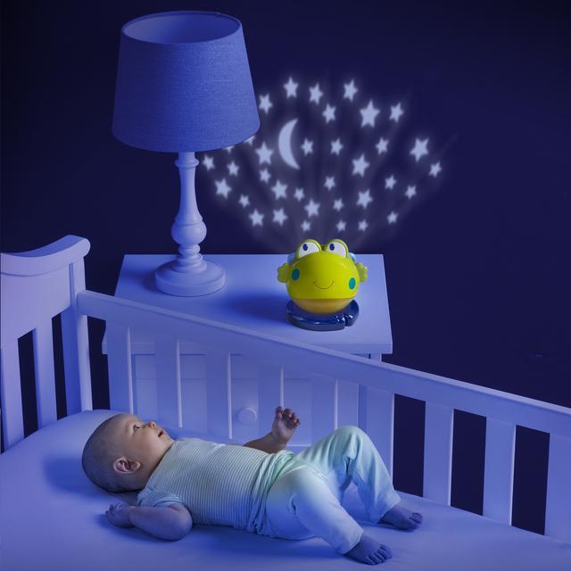 Luce notturna per Bambini RANA con Proiettore di Stelle e musica  eBay