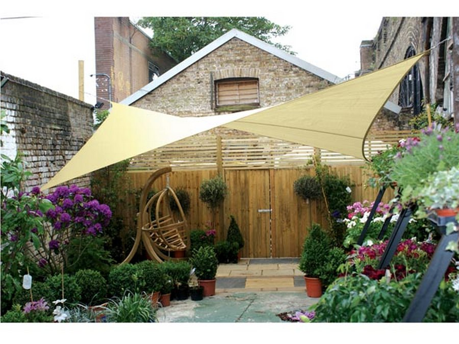shade sail square 3 6 x 3 6m 3 colours sun uv protection garden roof ebay. Black Bedroom Furniture Sets. Home Design Ideas