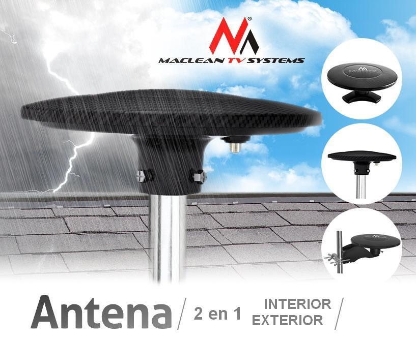 Antena tdt tv dvb t multidireccional 360 hdtv interior - Amplificador de antena ...