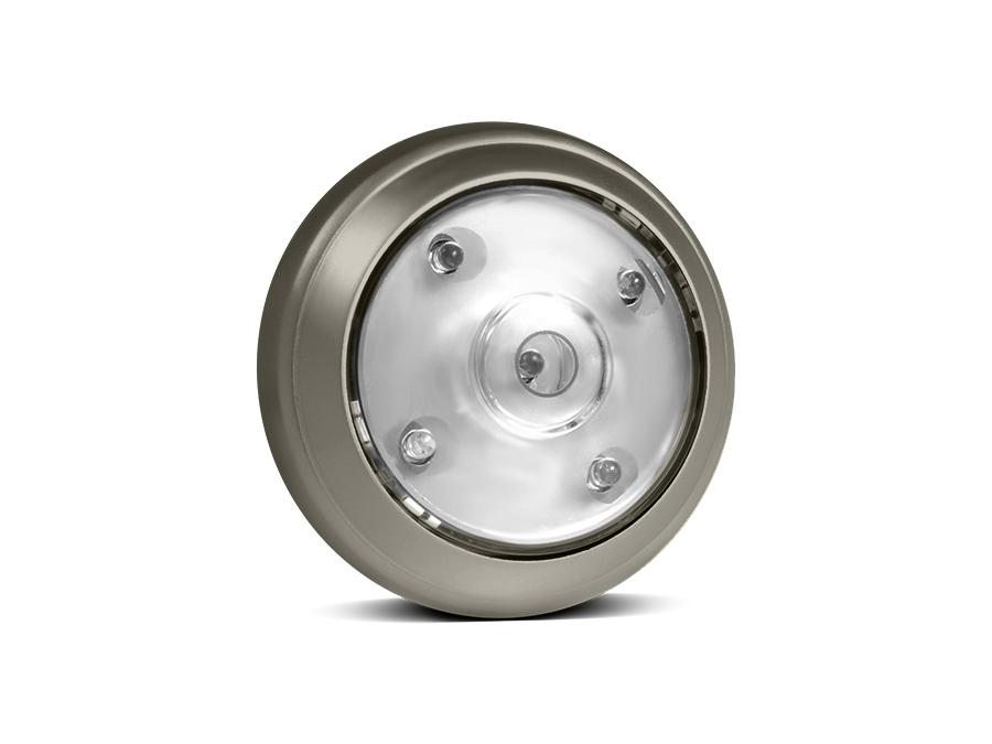 led lampe licht selbstklebend leuchte schrankleuchte 5 leds 360 drehung regelung ebay. Black Bedroom Furniture Sets. Home Design Ideas