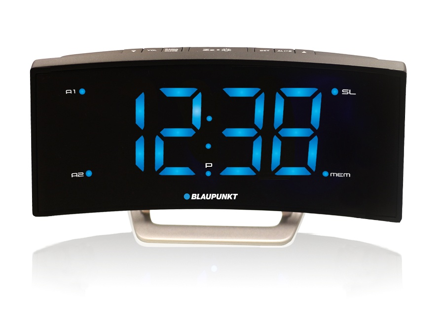 blaupunkt radio alarm clock w wall ceiling projector 3 types digital temperature ebay. Black Bedroom Furniture Sets. Home Design Ideas