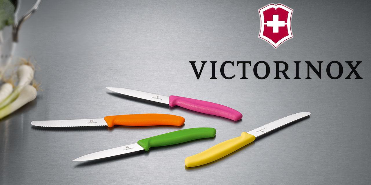 victorinox kleines messer wellenschliff 11cm tomatenmesser. Black Bedroom Furniture Sets. Home Design Ideas