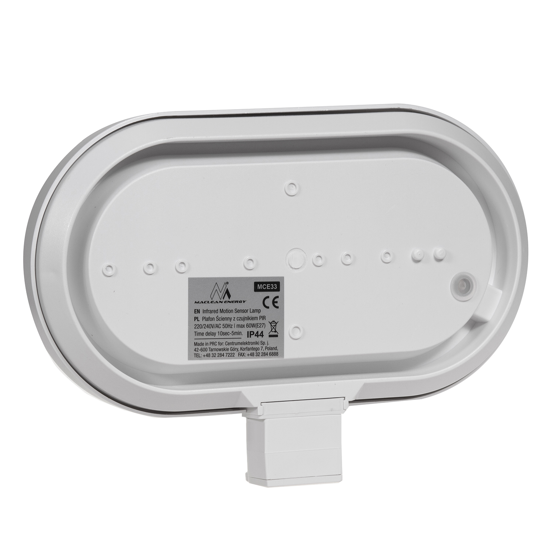 Portalampada da parete con rilevatore movimento sensore - Portalampada con sensore crepuscolare ...