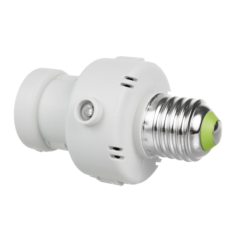 Maclean mce21 portalampada con sensore crepuscolare timer - Portalampada con sensore crepuscolare ...