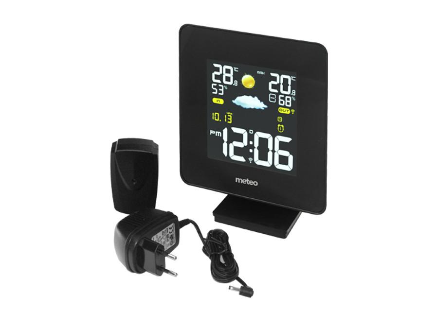 sp52 wetterstation mit au ensensor thermometer display funk dcf wettervorhersage ebay. Black Bedroom Furniture Sets. Home Design Ideas