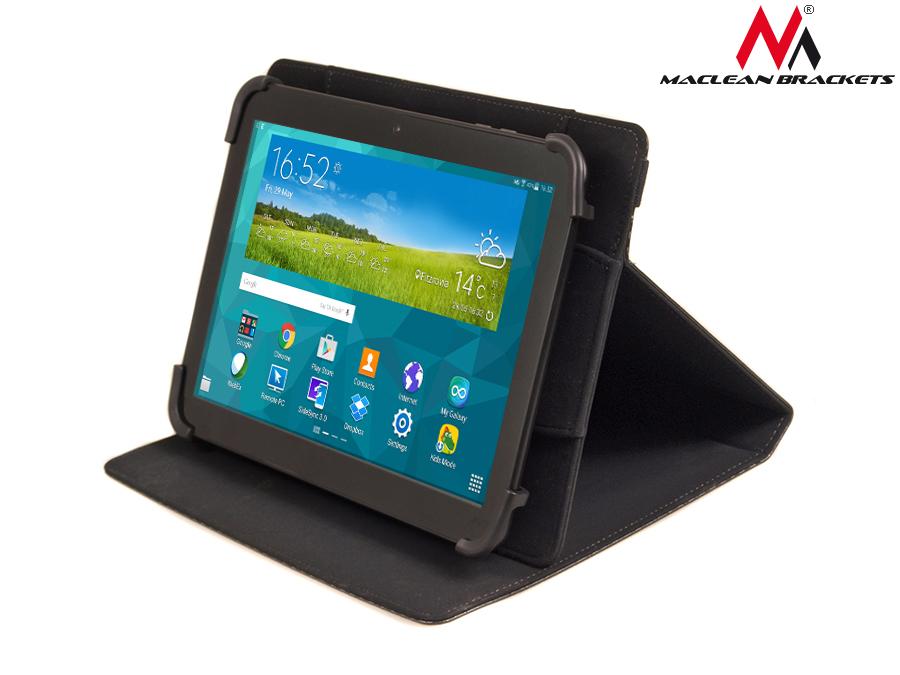 Maclean funda para tablet de 9 10 pulgadas carcasa protectora folio portafolio ebay - Fundas de tablet de 9 pulgadas ...