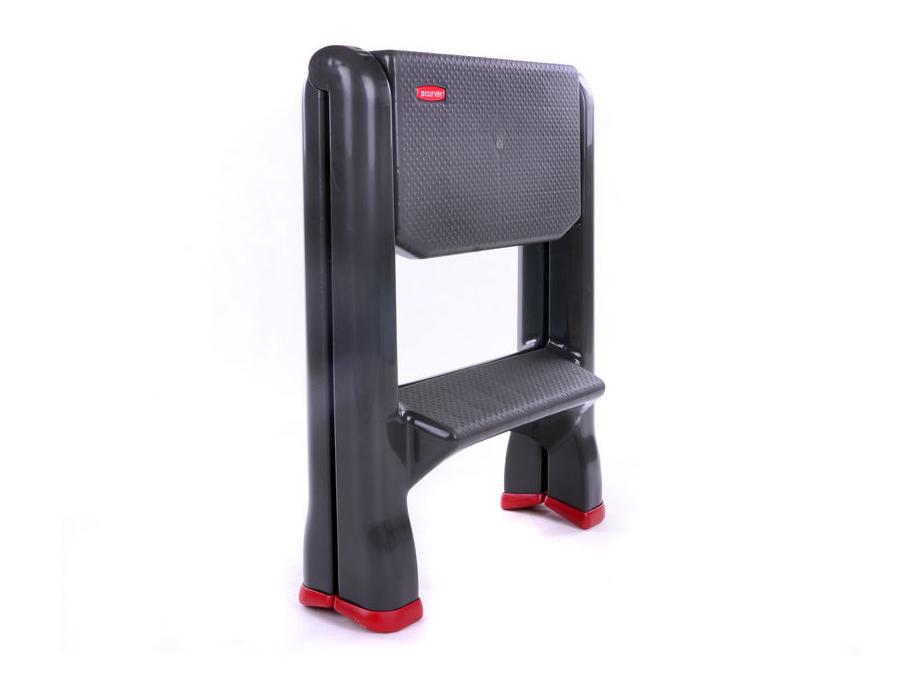 Curver Folding 2 Step Ladder Up To 150kg Slip Proof