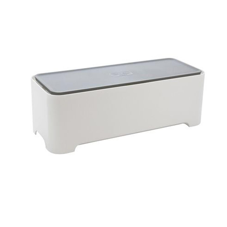 kabel box organizer manager steckdosen stecker cable allibert e box m neu ebay. Black Bedroom Furniture Sets. Home Design Ideas
