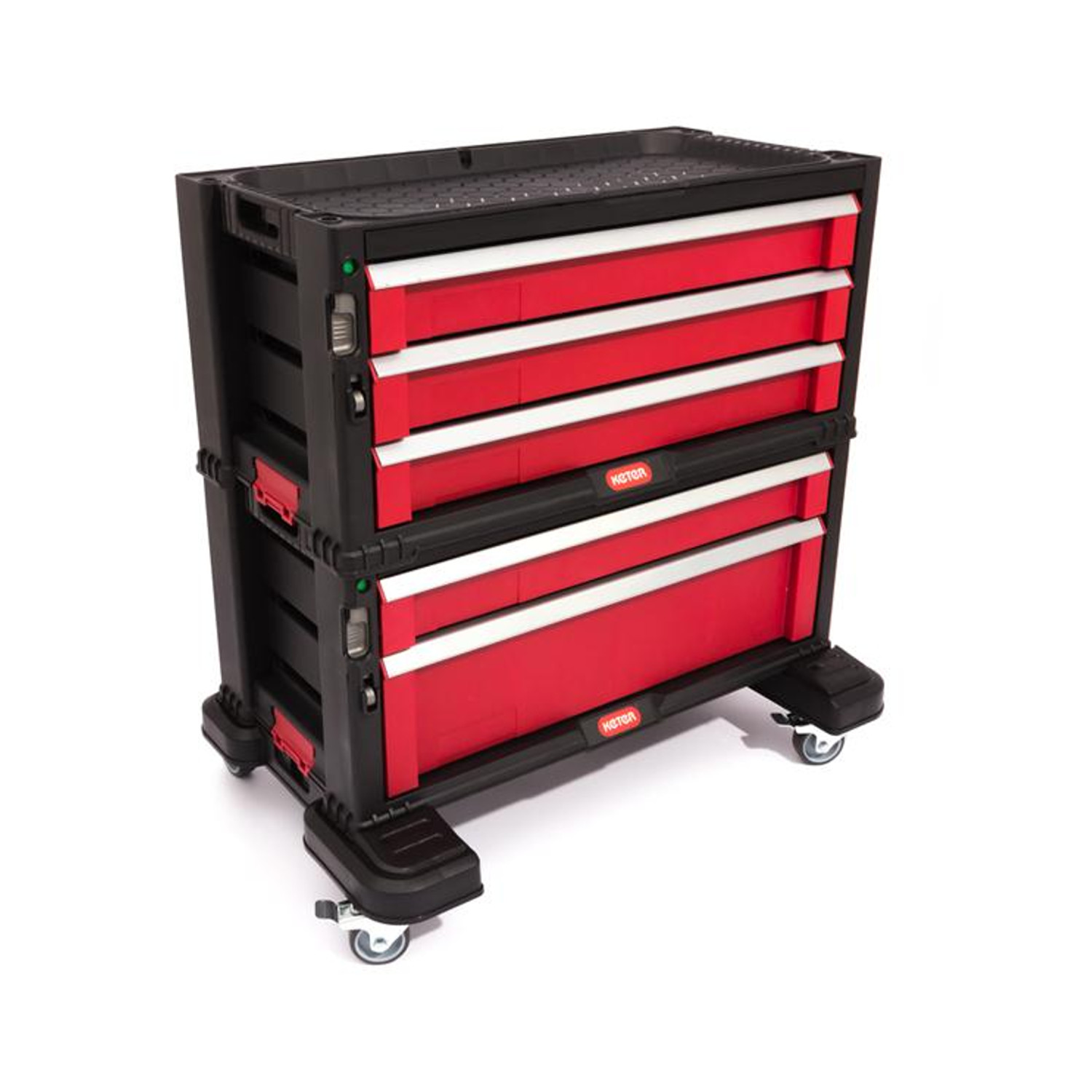 bookcase with 5 drawers tool chest set practical bookcase with large capacity ebay. Black Bedroom Furniture Sets. Home Design Ideas