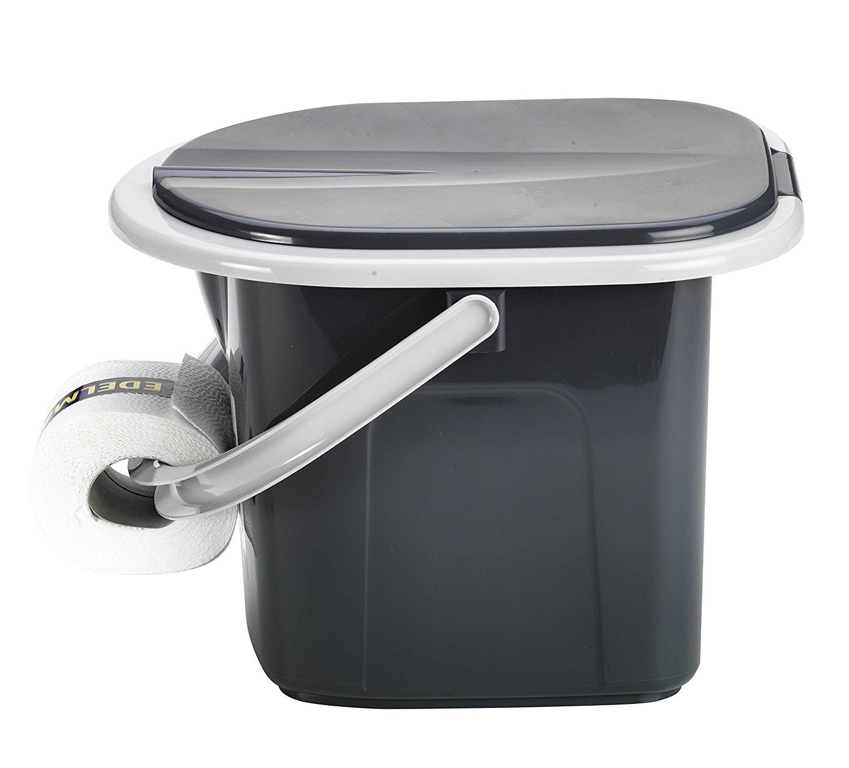 reise wc toilette campingtoilette eimer branq 15 5 l toiletteneimer branq ebay. Black Bedroom Furniture Sets. Home Design Ideas