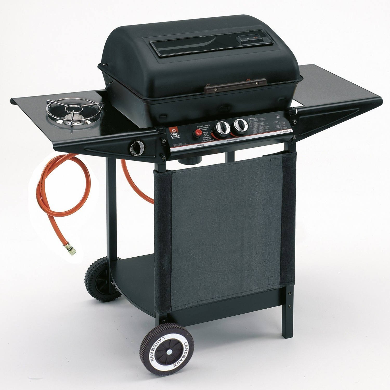 gas grill lavastein grill 6 5kw bbq grillwagen grill barbecue garten grillparty ebay. Black Bedroom Furniture Sets. Home Design Ideas