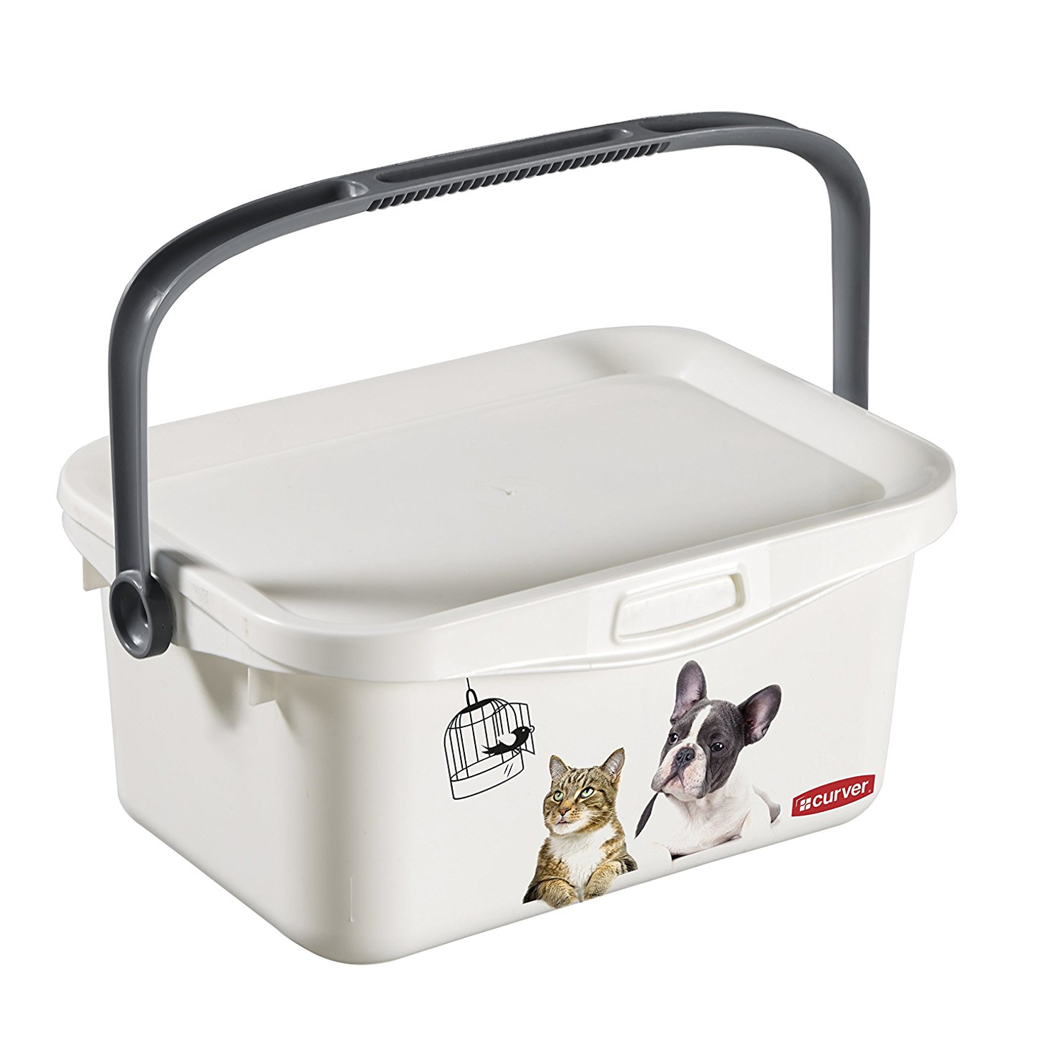 Food container curver petlife feedbox multibox 3 liter or for Decor 6l container