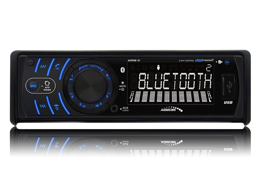Radioodtwarzacz Audiocore AC9800B BT Android Iphone głosnomówiący