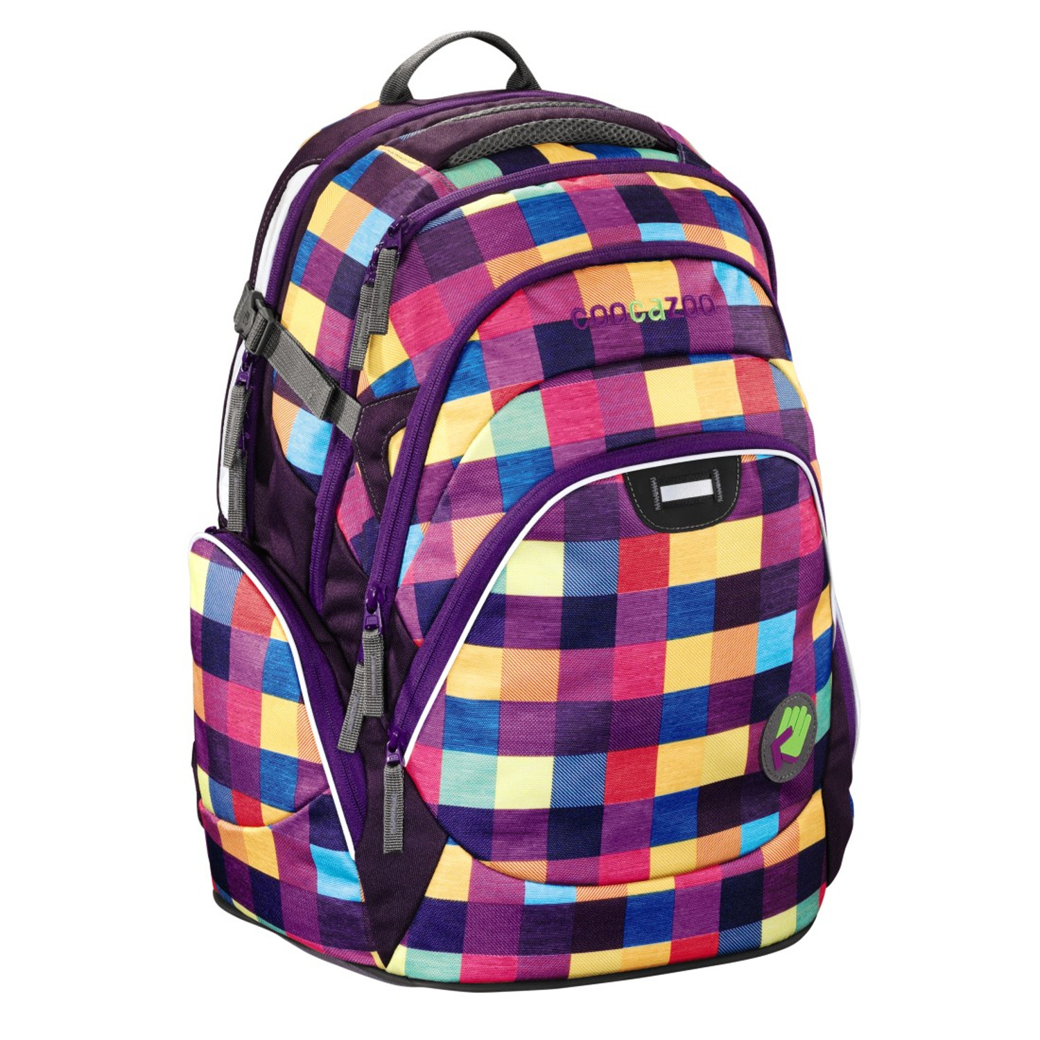 Details about Weatherproof School Bag Rucksuck Backpack Ergonomic Padded Back with Tummy Strap
