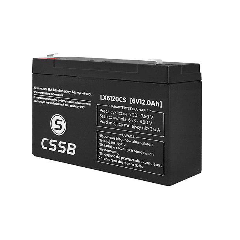 batterie au gel cssb 6v 12ah super produit sans entretien sans fuite ebay. Black Bedroom Furniture Sets. Home Design Ideas