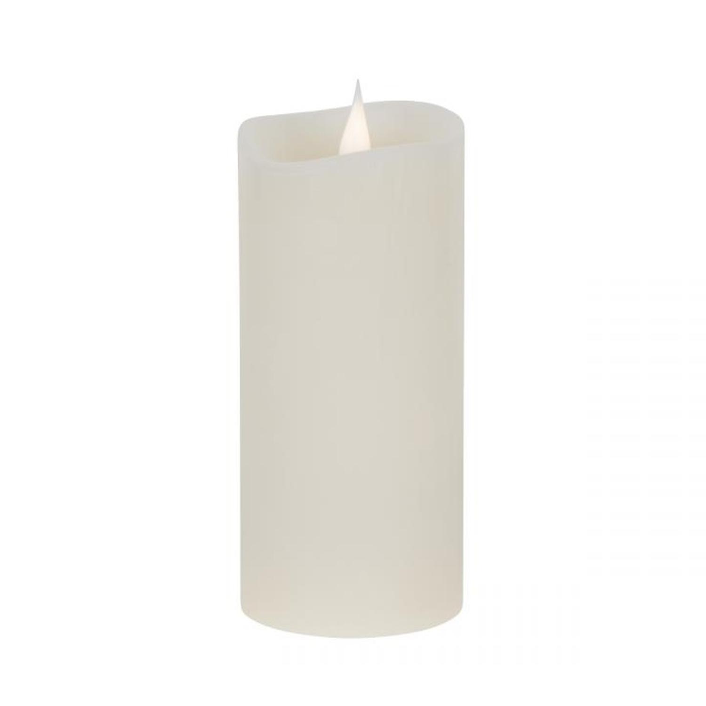 flackernde flammenlose led kerzen mit timer wachskerzen teelicht batterie beige ebay. Black Bedroom Furniture Sets. Home Design Ideas
