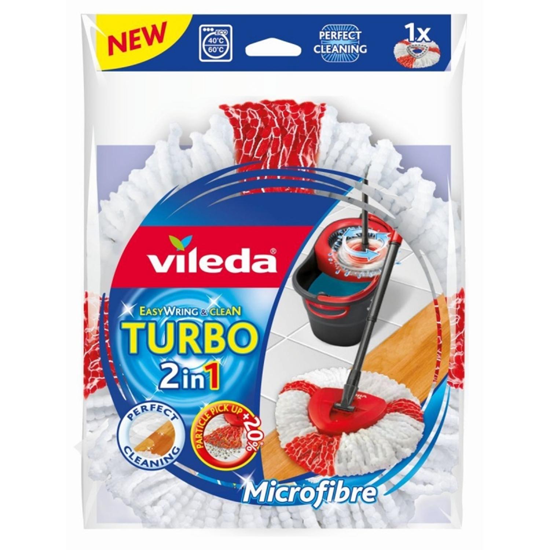 Vileda Fingermop waschbares Anti-Staub System mit flexiblen Fingern,ohne Stiel