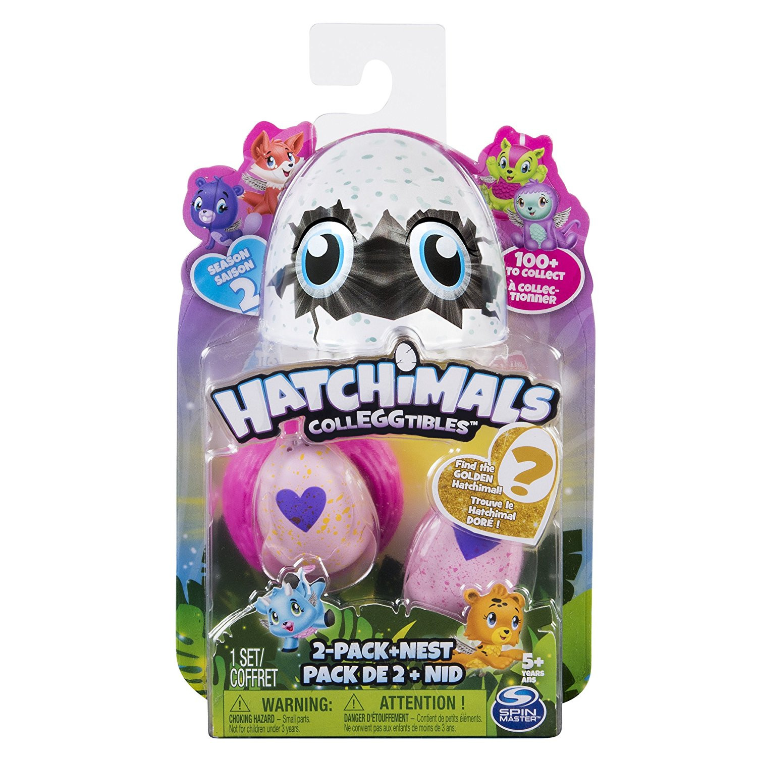 Nid Spin Master hatchimals colleggtibles s5 2er Pack