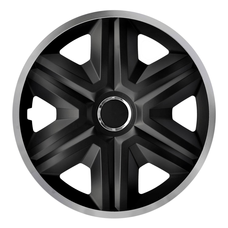 Universal Radkappen Radzierblenden ESPRIT schwarz 16 Zoll f OPEL Modelle