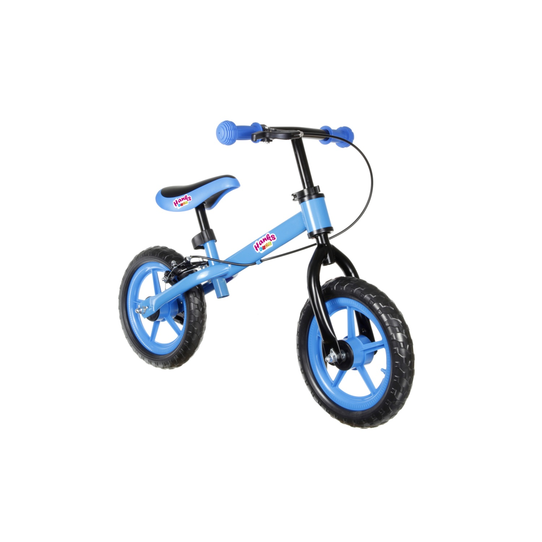 Bicicleta sin Pedales para Ninos hasta 27kg Ajustable Sillin Volante Azul