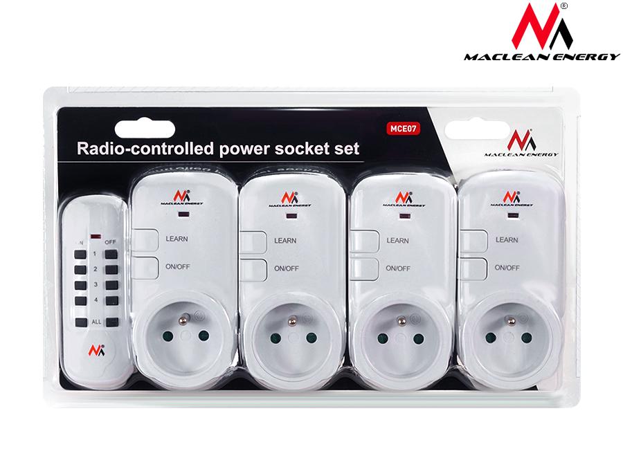 4 pieces prises electriques commande distance telecommande - Prise electrique telecommande ...