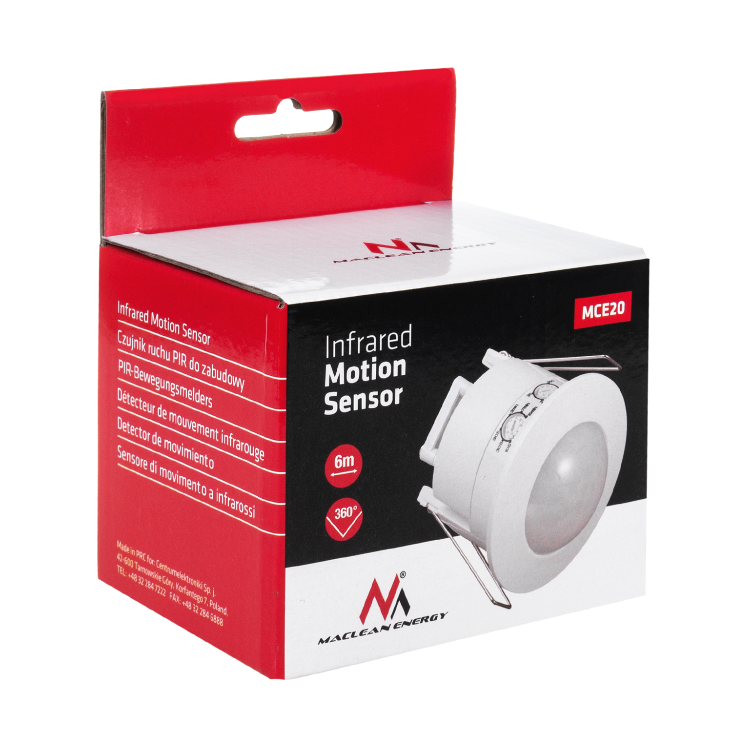 Ceiling Pir Motion Switch Security Sensor Light 360 Angle