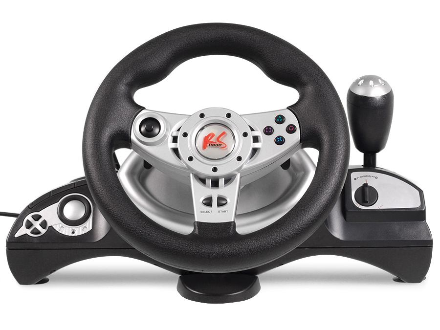 racing steering wheel pedals vibration force feedback. Black Bedroom Furniture Sets. Home Design Ideas