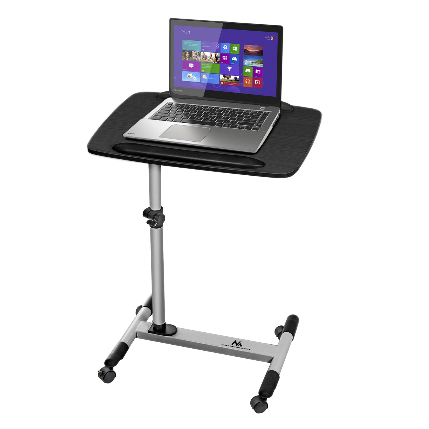 Portable laptop table universal adjustable projector desk for Portable projector for laptop