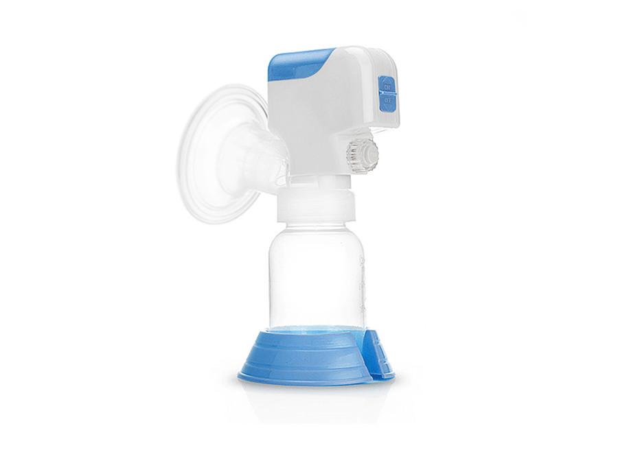 Einzelmilchpumpe Elektrische Milchpumpe mit Babyflasche Akku Netzbetrieb SiSi