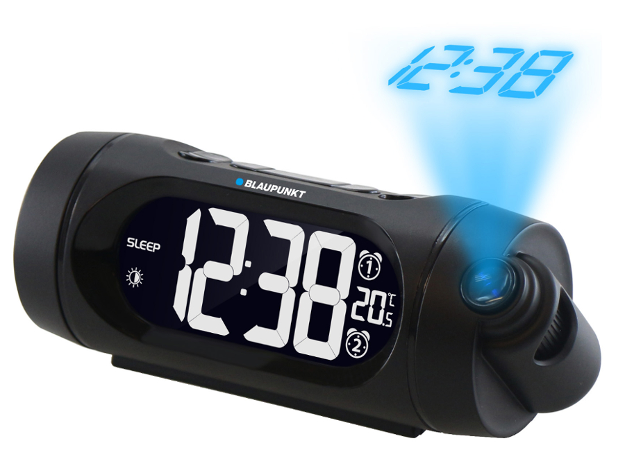 radio controlled alarm clock mains powered unique alarm clock. Black Bedroom Furniture Sets. Home Design Ideas
