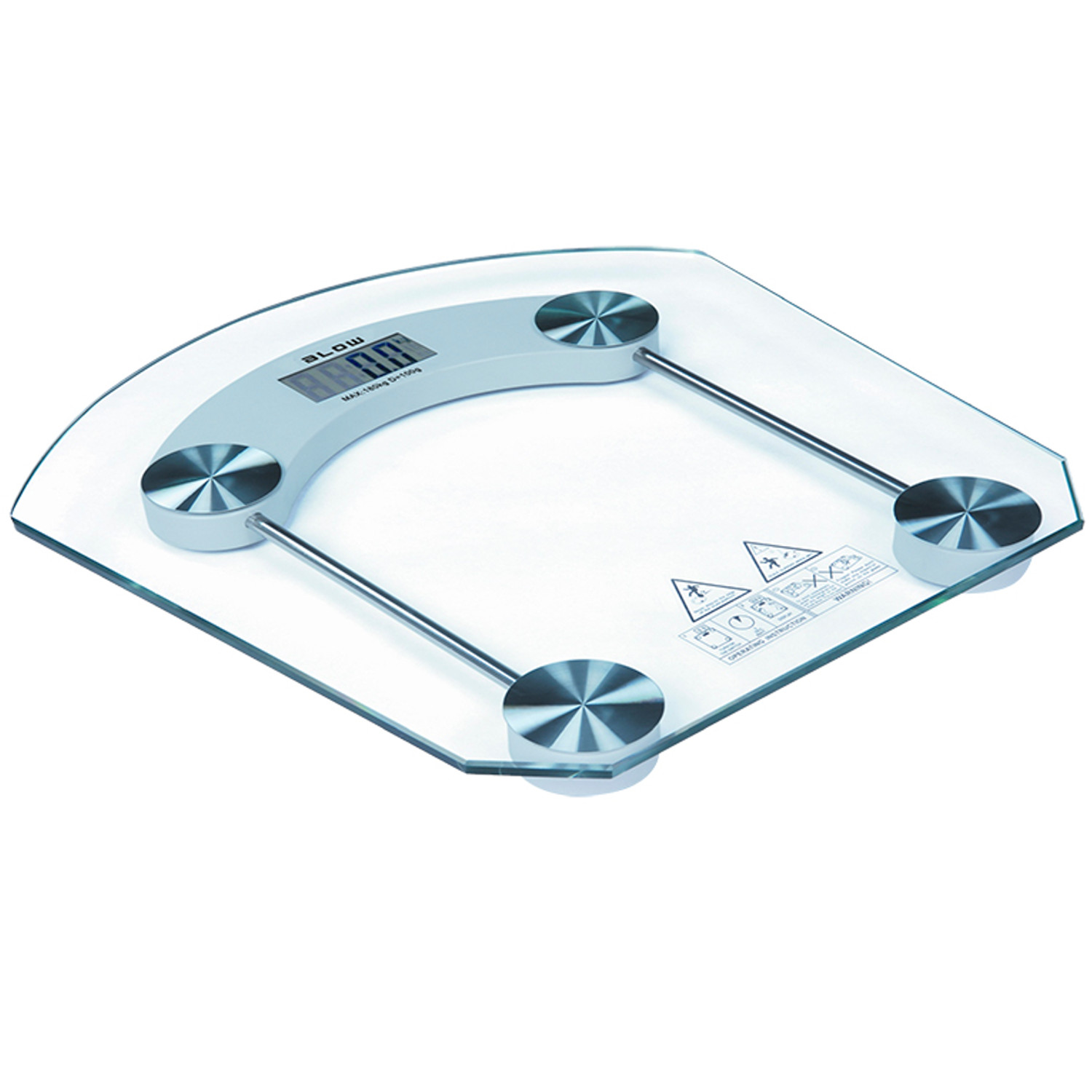 Digital Bathroom Scale Up To 180kg High Precision High Quality Glass Front 5900804088554 Ebay