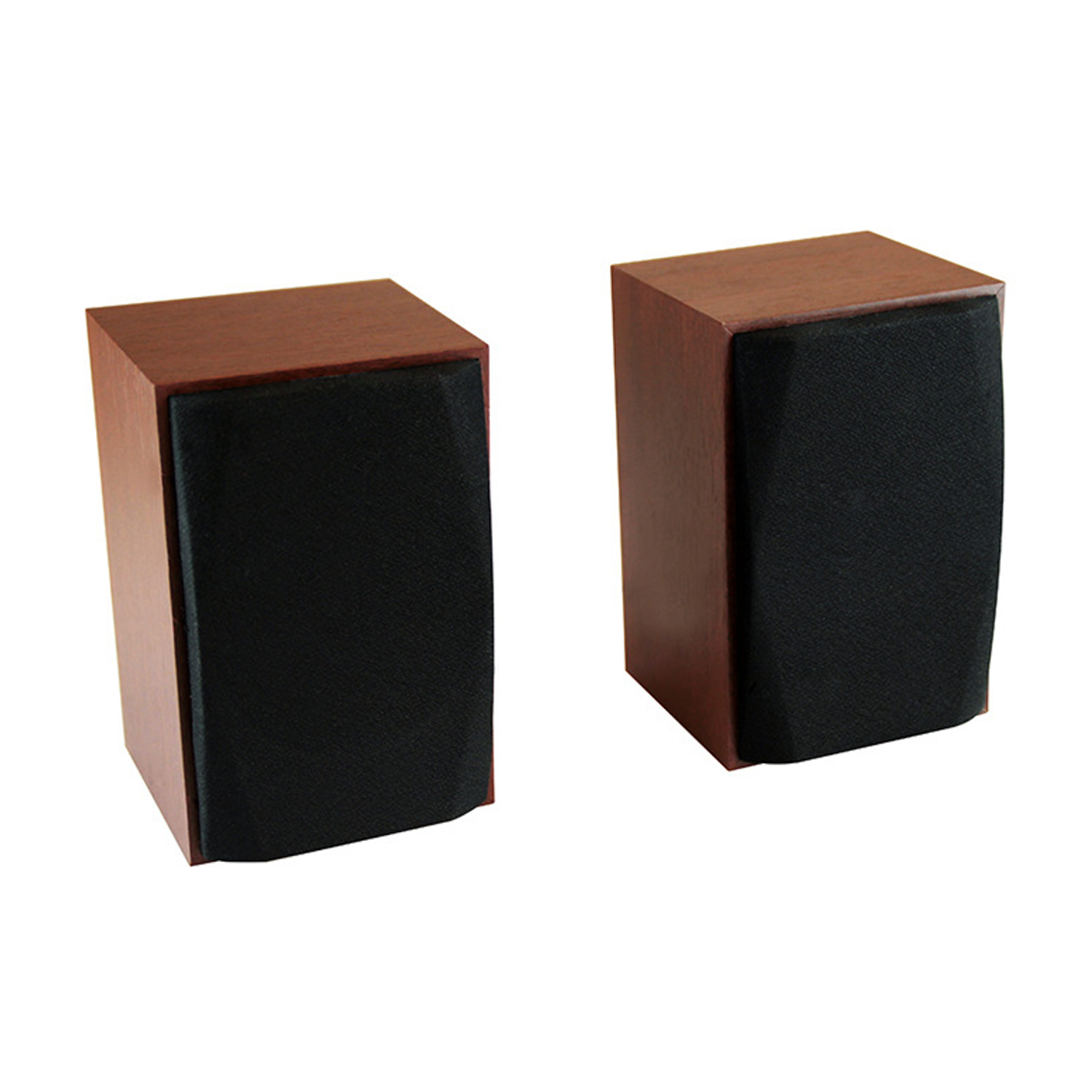 lautsprecher set system stereo 10w rms holz geh use usb. Black Bedroom Furniture Sets. Home Design Ideas