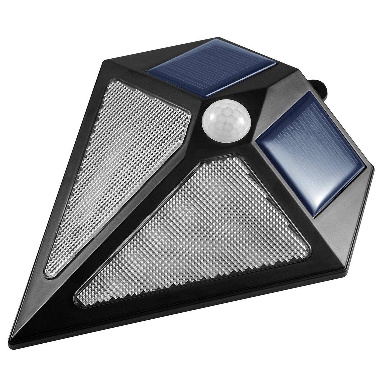 solar led wandleuchte lichtsensor au en strahler beleuchtung wasserdicht ip65 5902211107026 ebay. Black Bedroom Furniture Sets. Home Design Ideas