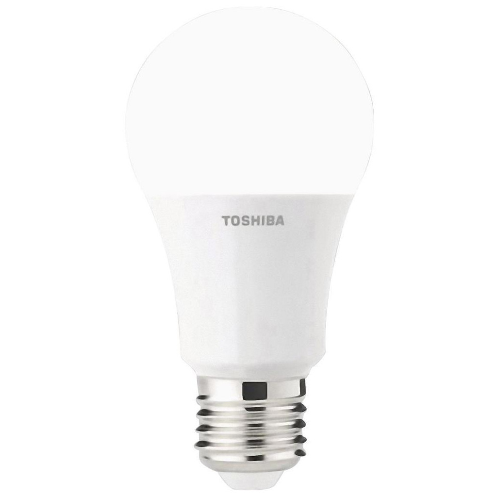led light bulb toshiba e27 8 5w 60w 806lm 2700k luminous flux 806 life 15000 4713233150126. Black Bedroom Furniture Sets. Home Design Ideas