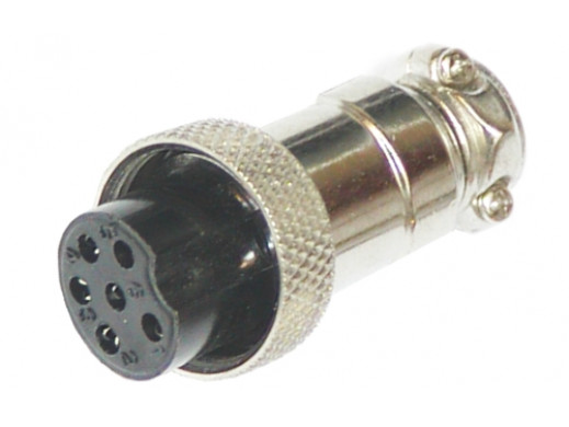 Wtyk mikrofonowy CB NC518 6PIN
