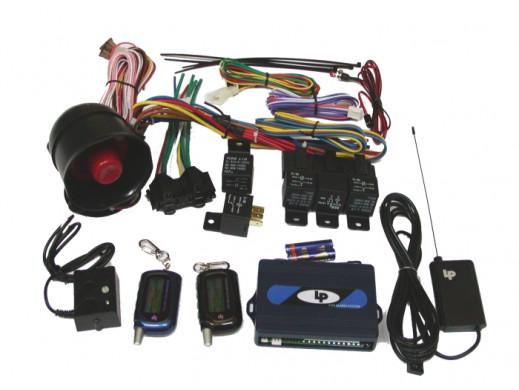 Alarm samochodowy 2-WAY wyświetlacz LCD URZ0252AL