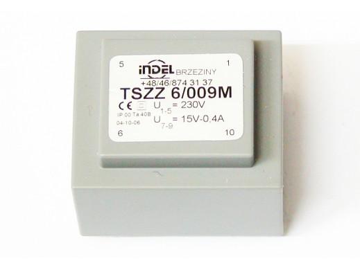Transformator 15V 0,4A TSZZ...