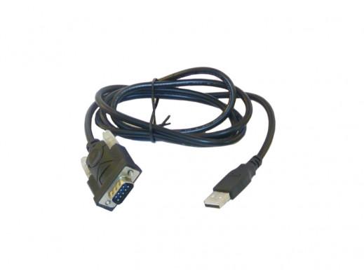 Adapter USB-RS232 (DB9M) na przewodzie