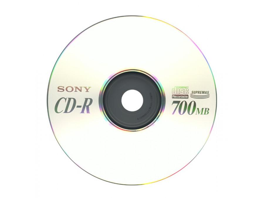 Płyta CD-R 700mb Sony bez opakowania