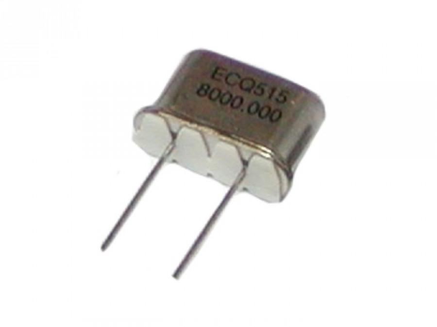 Rezonator kwarc 8,000MHz NISKI