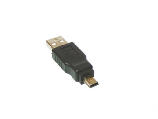 Złącze USB-wt.mini usb 5P/A...
