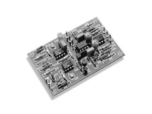 AVT-471B Wzmacniacz słuchawkowy KIT