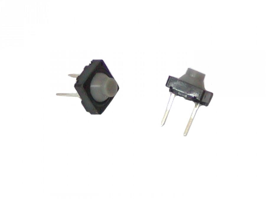 Mikroswitch poziomy kwadrat 8*8mm H-5,6mm 2PIN hermetyczny