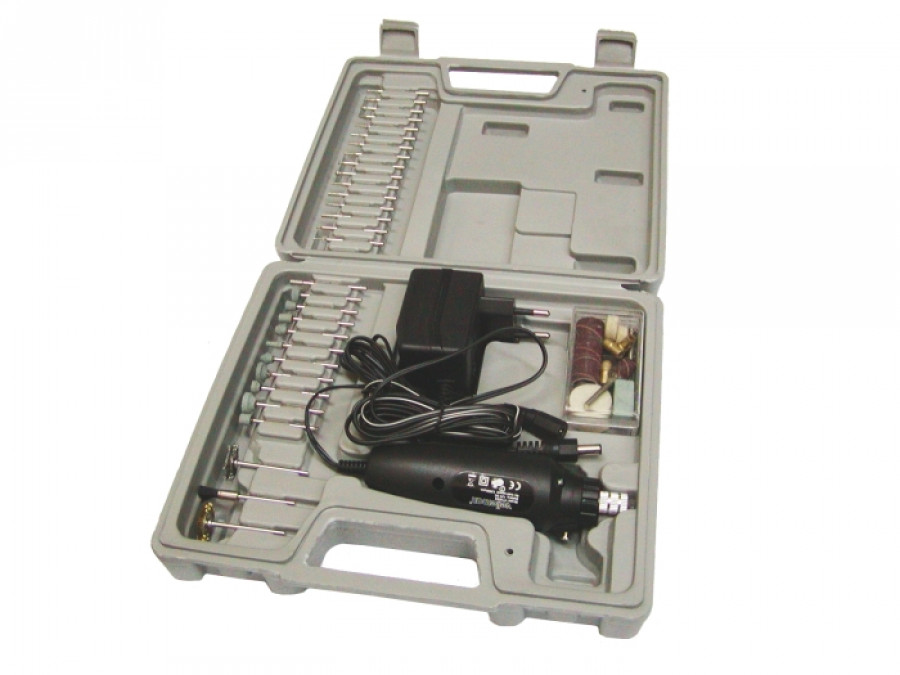 Wiertarka mini VTHD02 z zestawem akcesoriów 62szt Velleman