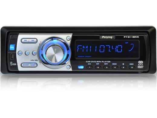 Radioodtwarzacz DVD/CD/MP3/USB/SD Peiying PY-8118DVD