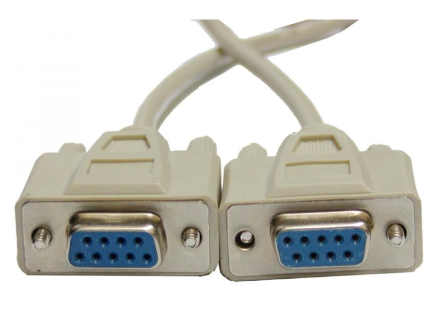 Przewód, kabel DB9F/DB9F 1,8m