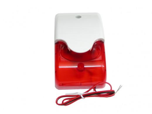 Sygnalizator AS-7015 czerwony