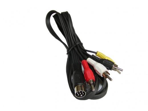 Przewód audio/video DIN6 na...