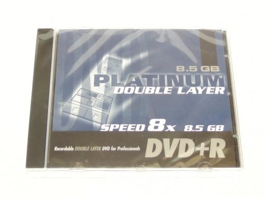 DVD +R 8.5GB PLATINUM W OPAKOWANIU