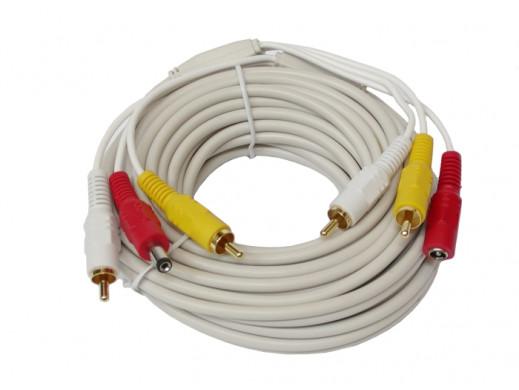 Kabel  A-V-DC do kamer...